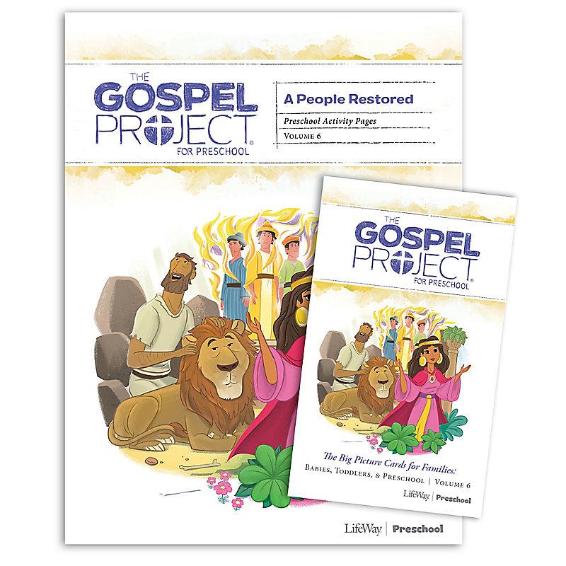 The Gospel Project for Preschool: Preschool Activity Pack - Volume 6: A People Restored