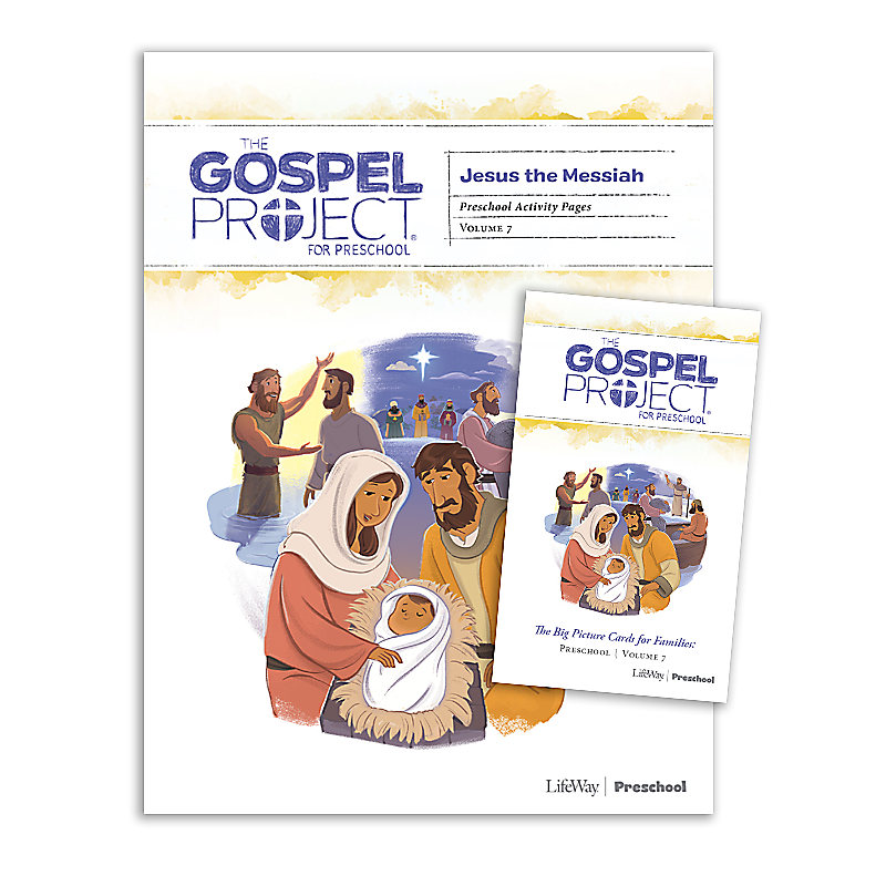 The Gospel Project for Preschool: Preschool Activity Pack - Volume 7: Jesus the Messiah