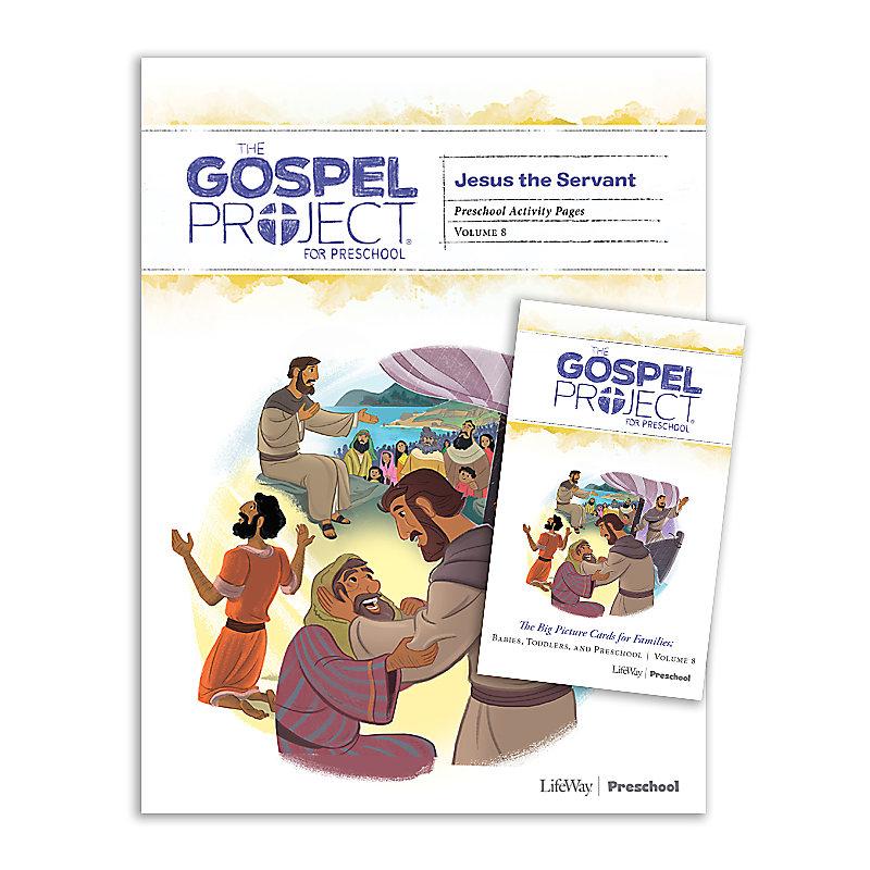 The Gospel Project for Preschool: Preschool Activity Pack - Volume 8: Jesus the Servant