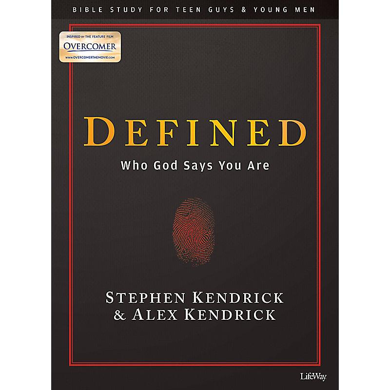 Defined - Teen Guys' Bible Study Book
