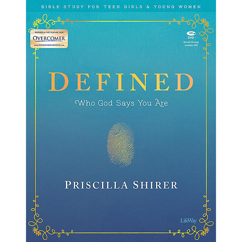 Defined - Teen Girls' Bible Study Digital Leader Kit