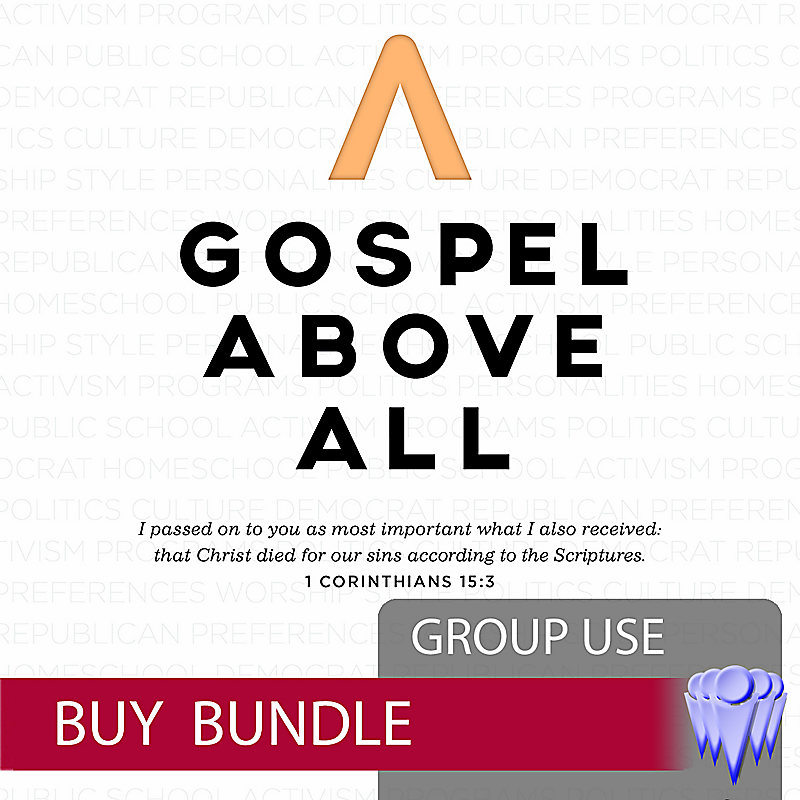 Gospel Above All - Group Use Video Bundle