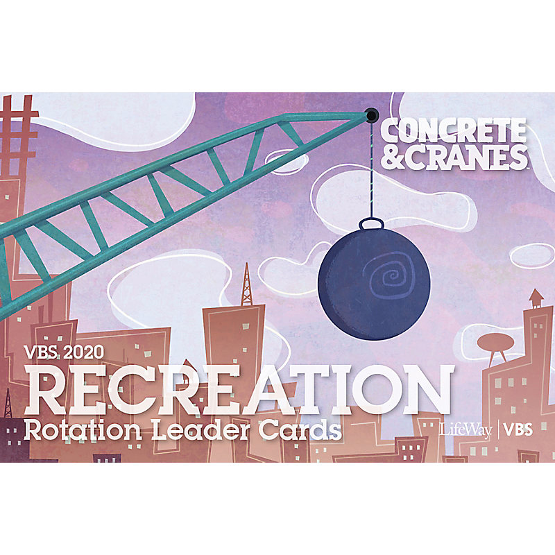 VBS 2020 Recreation Rotation Leader Cards