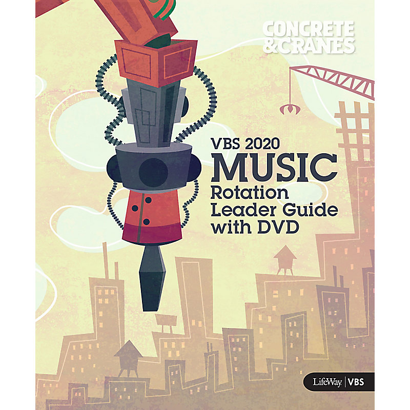 VBS 2020 Music Rotation Leader Guide With DVD