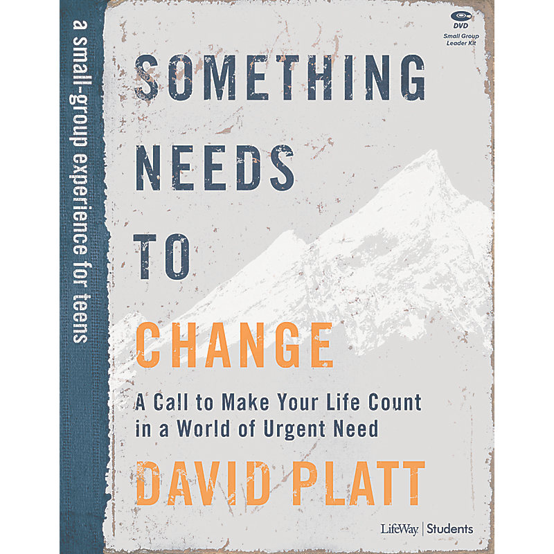 Something Needs to Change – Teen Bible Study Leader Kit