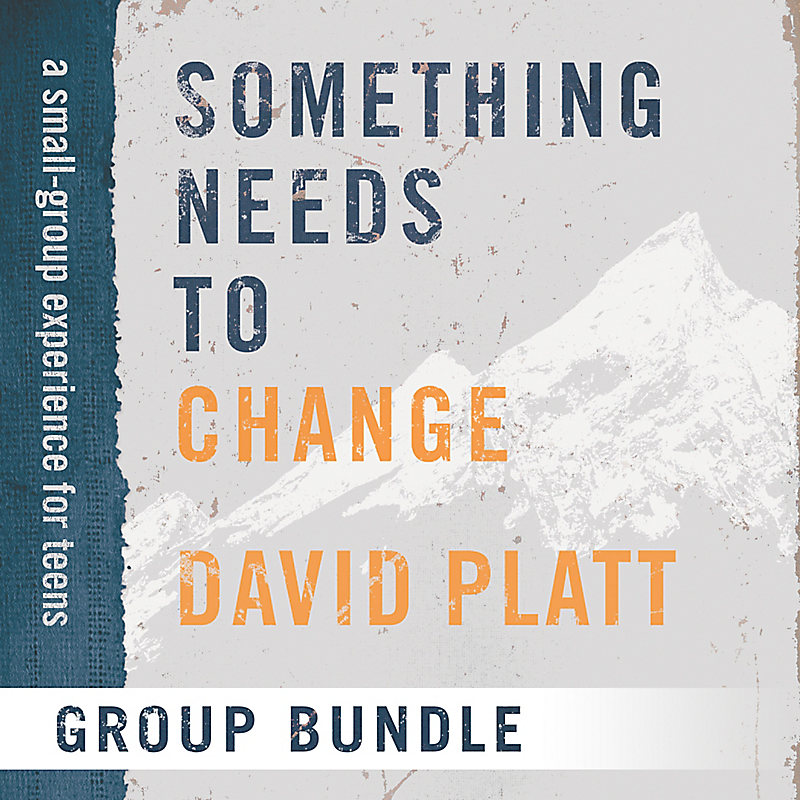 Something Needs to Change – Teen Group Use Video Bundle