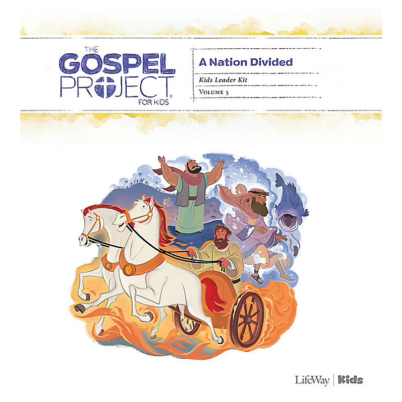 The Gospel Project for Kids: Kids Leader Kit - Volume 5: A Nation Divided