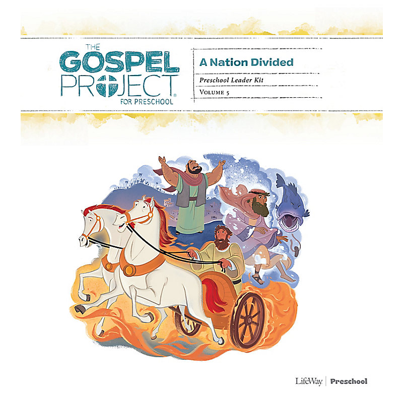 The Gospel Project for Preschool: Preschool Leader Kit - Volume 5: A Nation Divided