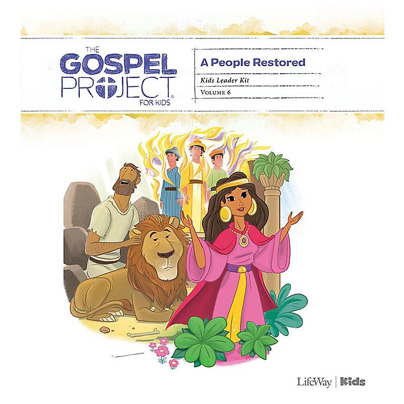 The Gospel Project for Kids: Kids Leader Kit - Volume 6: A People Restored