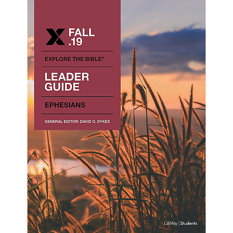 Explore The Bible: Student Leader CSB Fall 2019 e-book