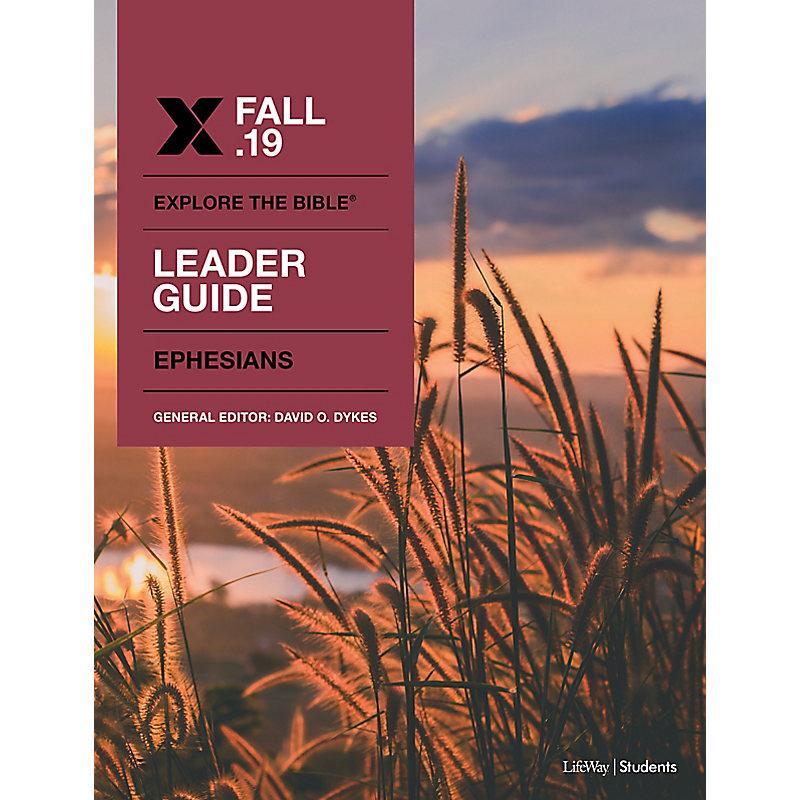 Explore The Bible: Student Leader ESV Fall 2019 e-book