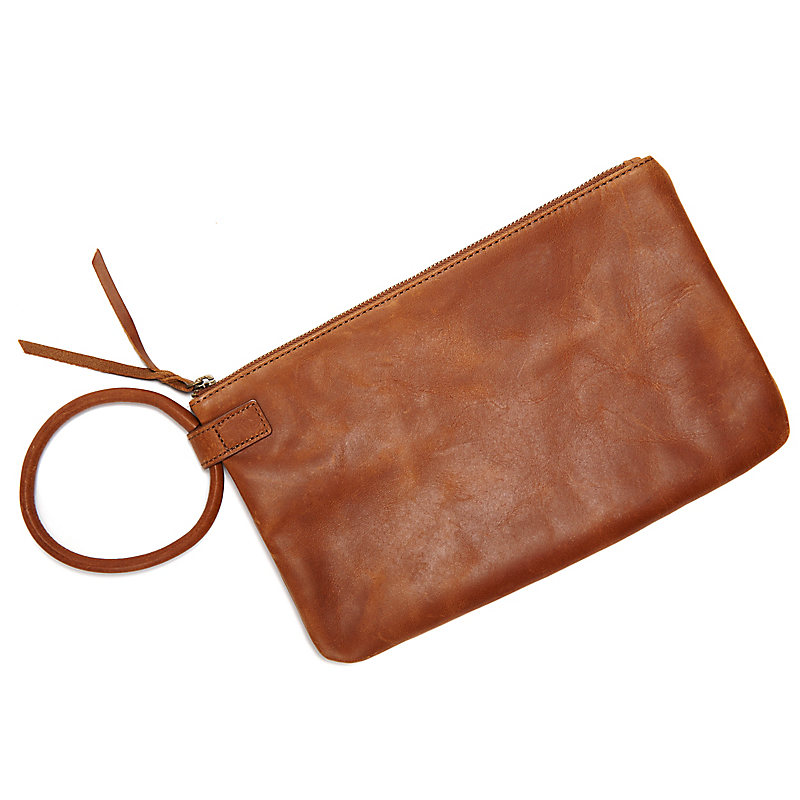 Hope + Future Leather Clutch