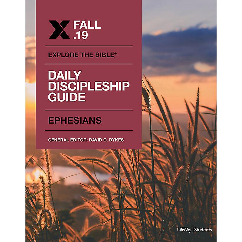 Explore The Bible: Student Daily Discipleship CSB Fall 2019 e-book