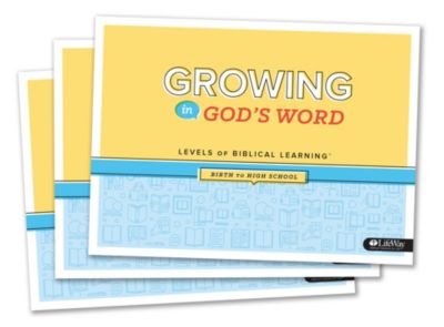 Growing In God's Word Booklet