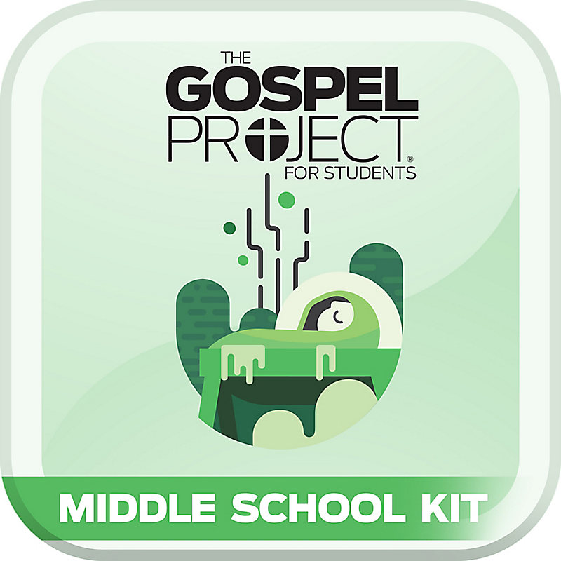 The Gospel Project for Students: Jesus the Messiah  Volume 7 Middle School Digital Kit