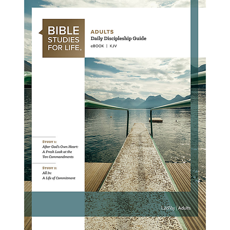 Bible Studies for Life: Adult Daily Discipleship Guide - KJV - Fall 2020