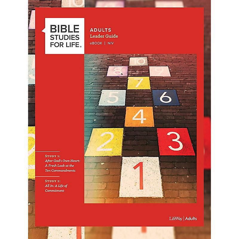 Bible Studies for Life: Adult Leader Guide - NIV - Fall 2020