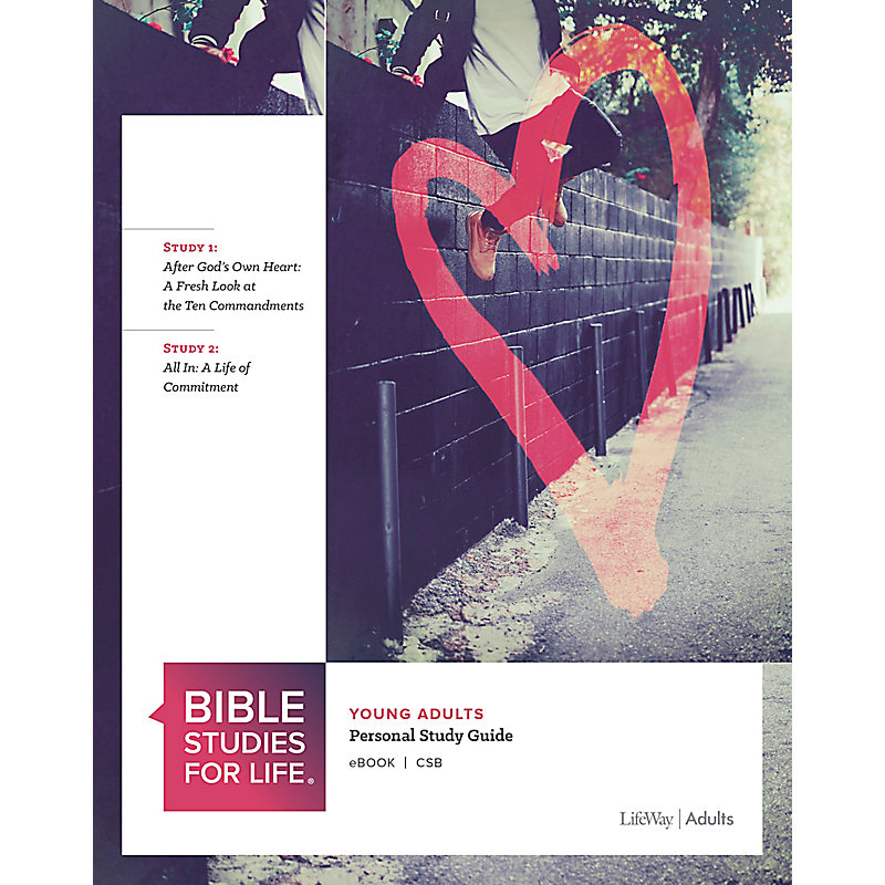 Bible Studies for Life: Young Adult Personal Study Guide - CSB - Fall 2020