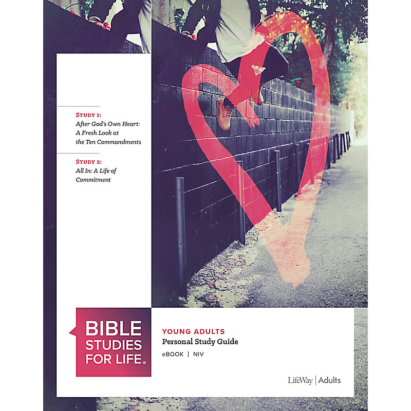 Bible Studies for Life: Young Adult Personal Study Guide - NIV - Fall 2020