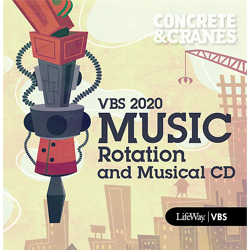 VBS 2020 Music Rotation And Musical CD