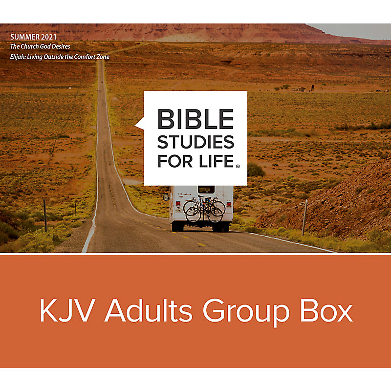 Bible Studies for Life: KJV Adults Group Box - Summer 2021