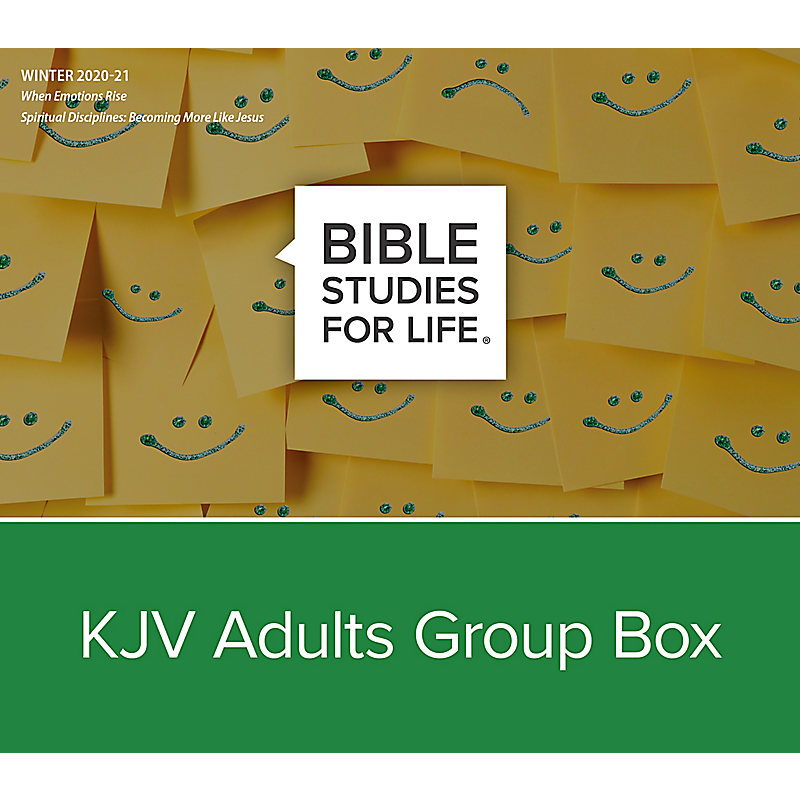 Bible Studies for Life: KJV Adults Group Box - Winter 2021