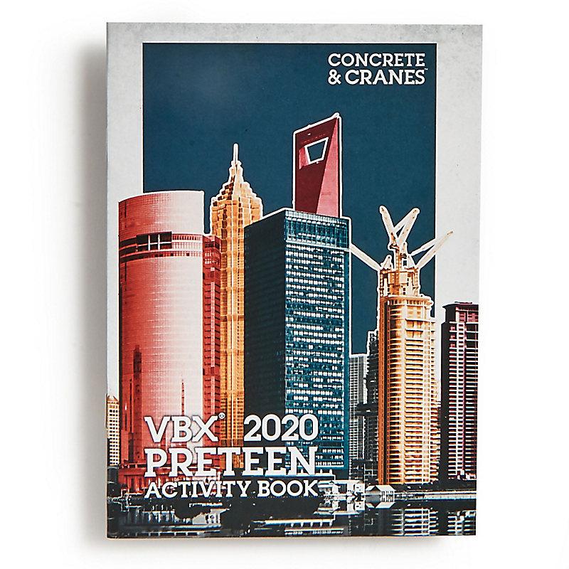 VBS 2020 VBX Preteen Activity Book