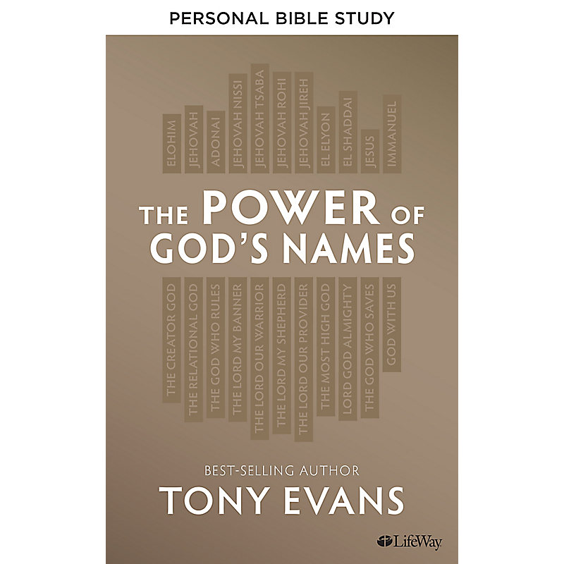 The Power of God's Names - Personal Bible Study Book