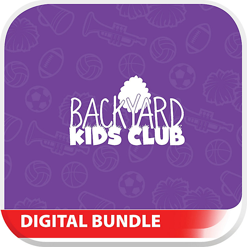 Backyard Kids Club Game On! Digital Kit