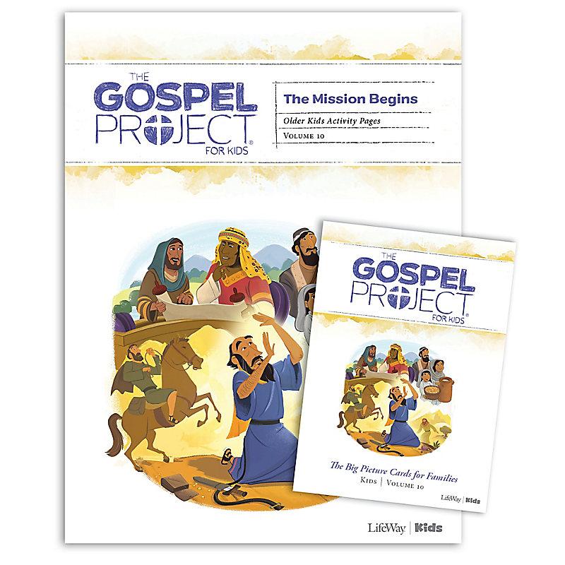 The Gospel Project for Kids: Older Kids Activity Pack - Volume 10: The Mission Begins