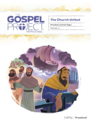 The Gospel Project for Kids Activity Pages