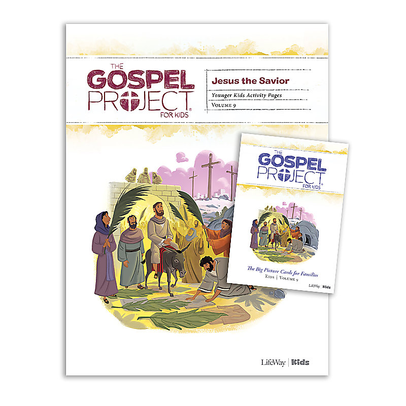 The Gospel Project for Kids: Younger Kids Activity Pack - Volume 9: Jesus the Savior