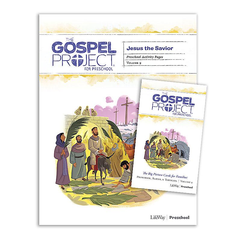 The Gospel Project for Preschool: Preschool Activity Pack - Volume 9: Jesus the Savior