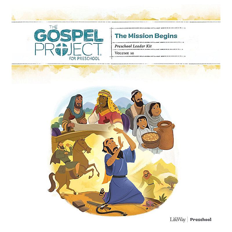The Gospel Project for Preschool: Preschool Leader Kit - Volume 10: The Mission Begins