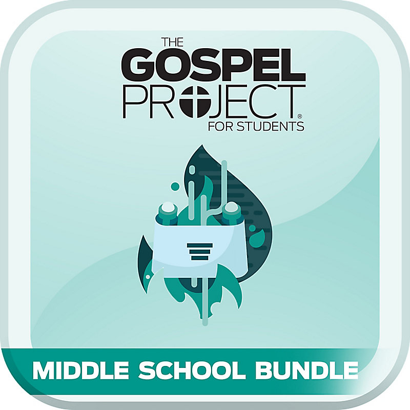 The Gospel Project: Students - Middle School Bundle - Winter 2020-21