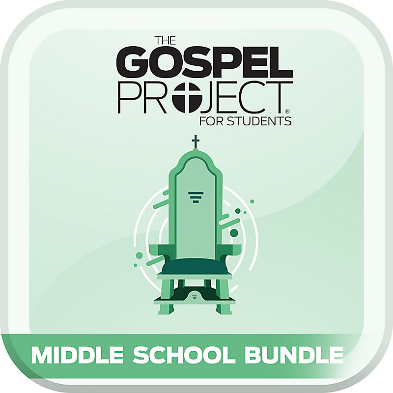 The The Gospel Project: Students - Middle School Bundle - CSB - Spring 2021