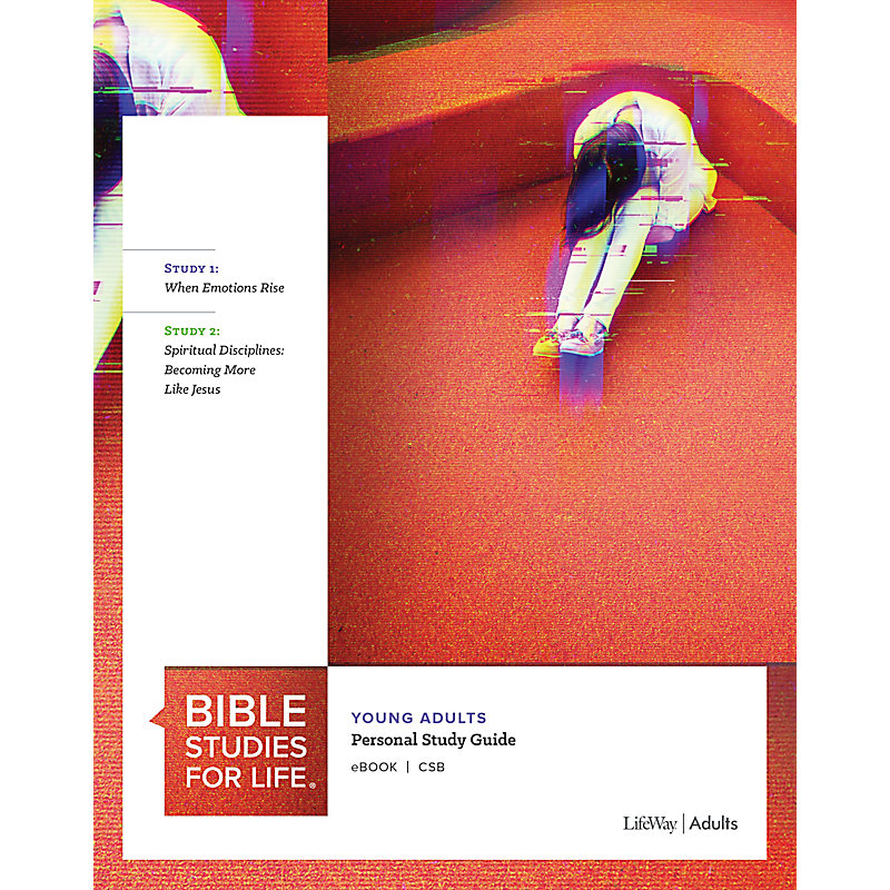 Bible Studies for Life: Young Adult Personal Study Guide - CSB - Winter 2021
