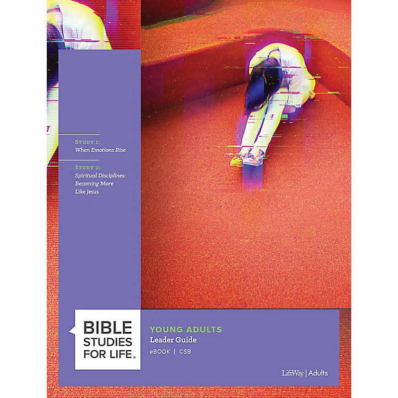 Bible Studies for Life: Young Adult Leader Guide - CSB - Winter 2021