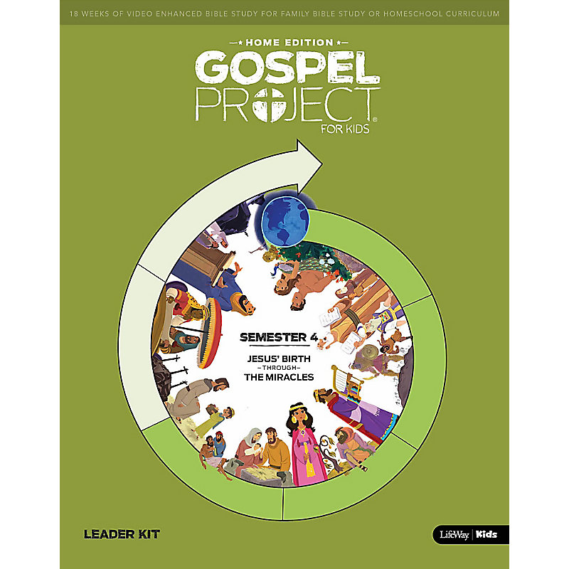 The Gospel Project Home Edition Leader Kit  Semester 4