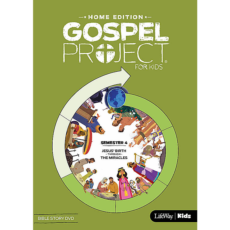 The Gospel Project Home Edition Bible Story DVD Semester 4