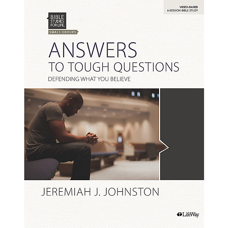 Bible Studies for Life: Answers to Tough Questions - Bible Study Book