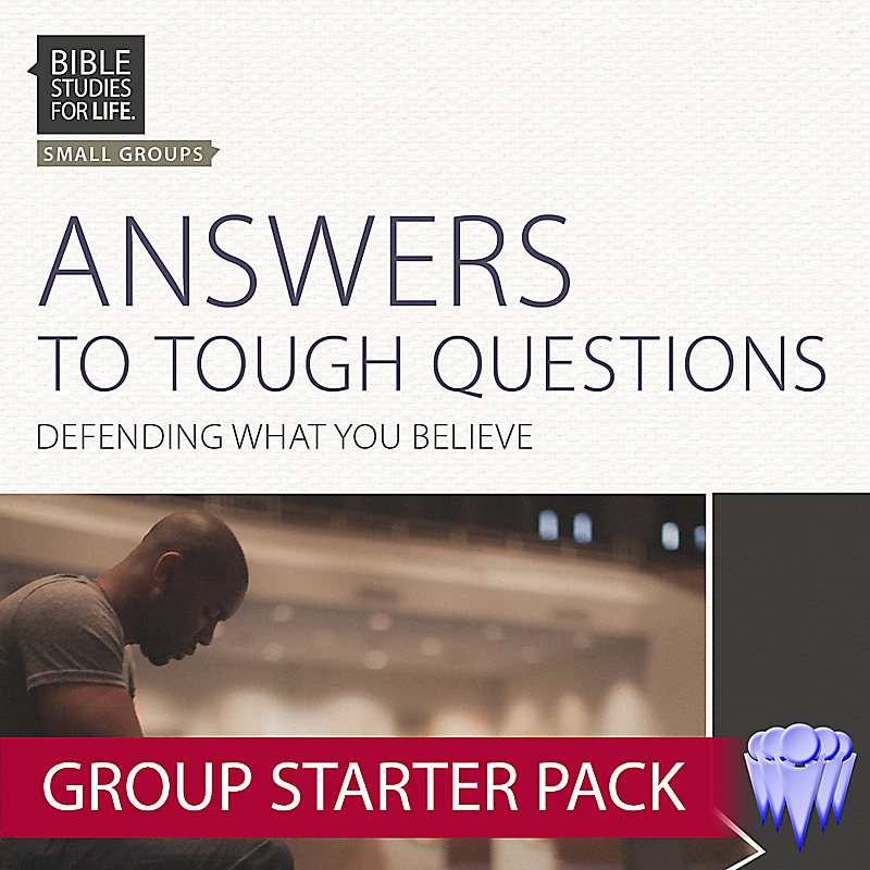 Bible Studies for Life: Answers to Tough Questions - Group Use Video Bundle