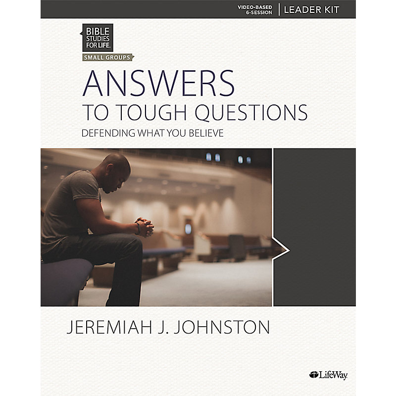 Bible Studies for Life: Answers to Tough Questions - Leader Kit