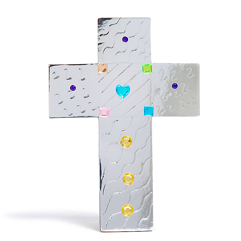 VBS 2020 Etched in Steel Cross Craft Pack  Pkg. 10
