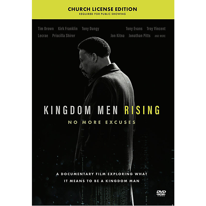 Kingdom Men Rising - Church Site License DVD