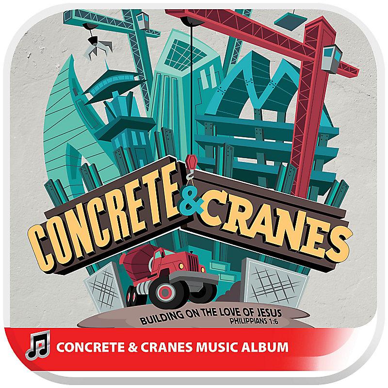 VBS 2020 Concrete & Cranes Music Album