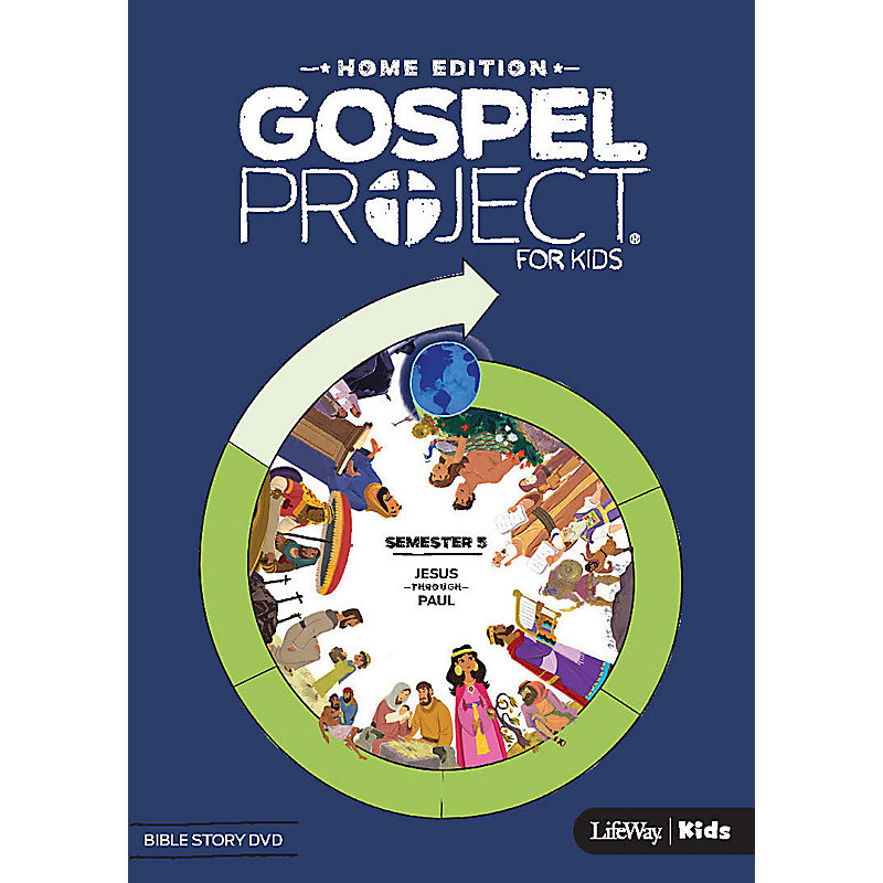 The Gospel Project Home Edition Bible Story DVD Semester 5