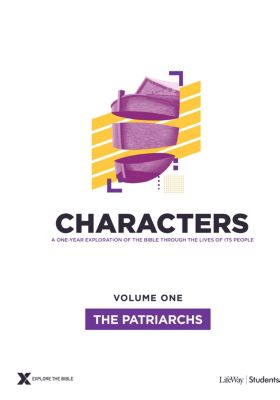Explore the Bible Characters Students Volume 1