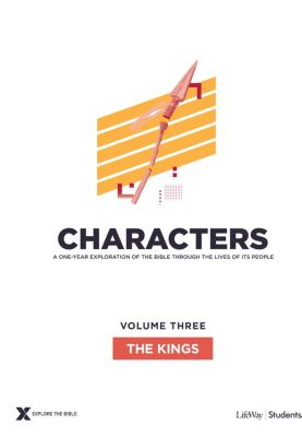 Explore the Bible Characters Students Volume 3