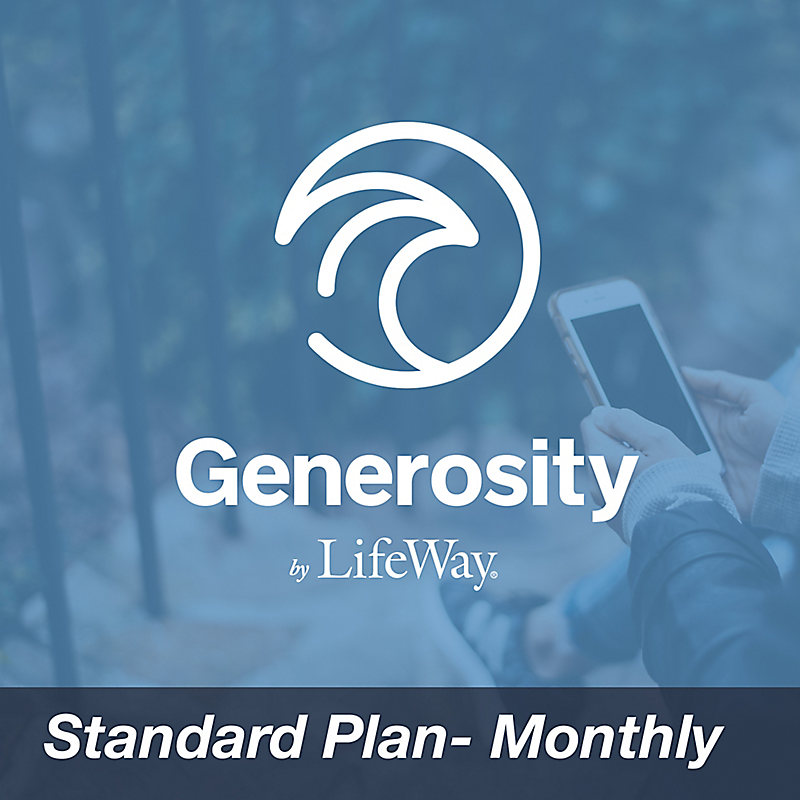 Generosity by LifeWay - Standard Plan (Monthly)